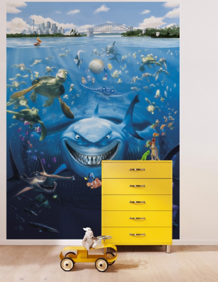 Finding Nemo Disney wall mural wallpaper